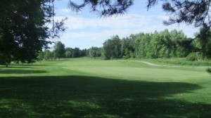 The 2nd hole at Cambridge Golf Club in Cambridge Ontario.