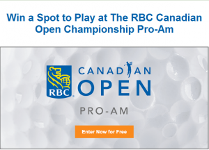 You Can Play In The 2016 Rbc Canadian Open Pro Am